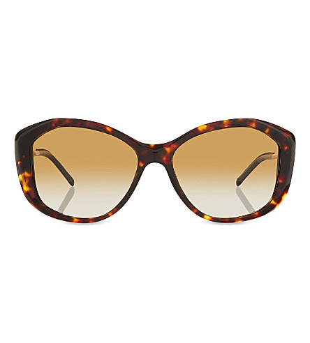 BURBERRY B4208-Q Havana cat eye sunglasses (Dark+havana