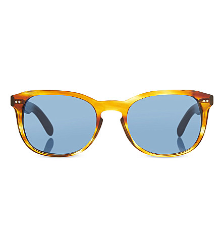 BURBERRY B4214 square sunglasses (Amber
