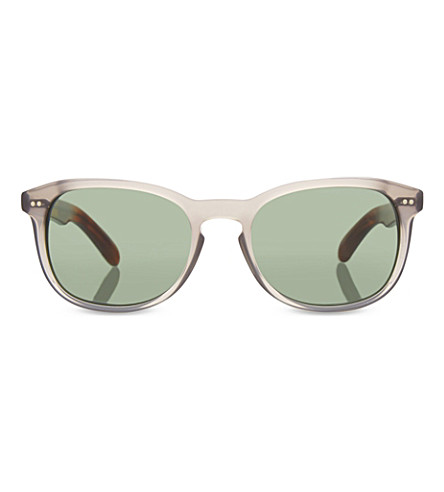 BURBERRY B4214 contrast arm square sunglasses (Grey