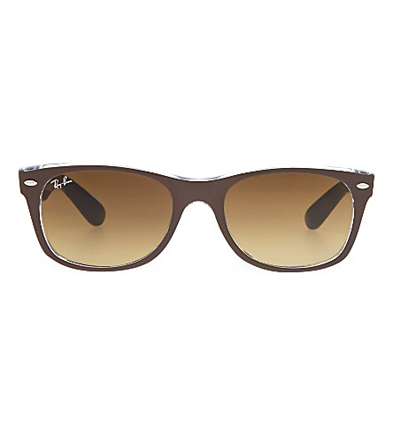 RAY-BAN RB2132 square sunglasses (Chocolate