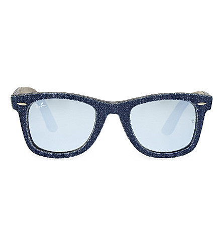 RAY-BAN RB2140 square sunglasses (Blue