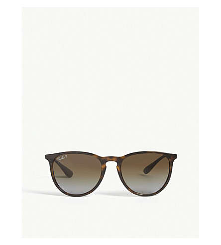 RAY-BAN RB4171 tortoise shell aviator sunglasses (Havana