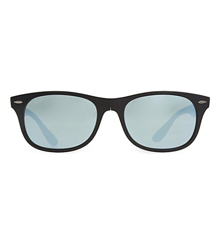 RAY-BAN RB4223 folding square sunglasses (Matte+black