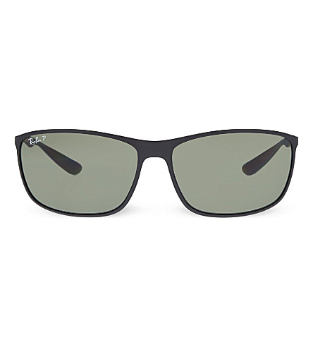 RAY-BAN RB4231 square sunglasses (Matte+black