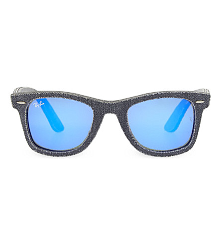 RAY-BAN RB2140 square sunglasses (Carbon