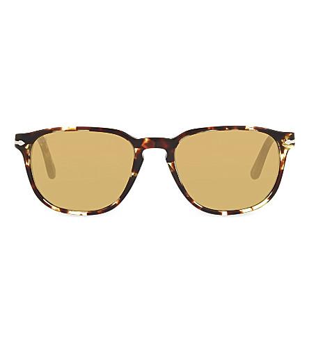 PERSOL 3019-S Tabacco square sunglasses (Tabacco