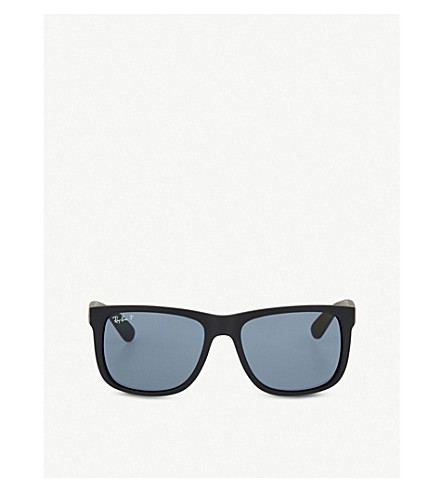 RAY-BAN RB4165 rectangle sunglasses (Black