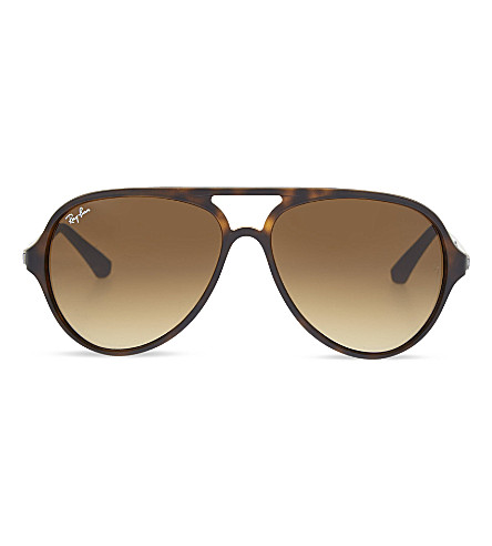 RAY-BAN RB4235 aviator sunglasses (Matte+havana
