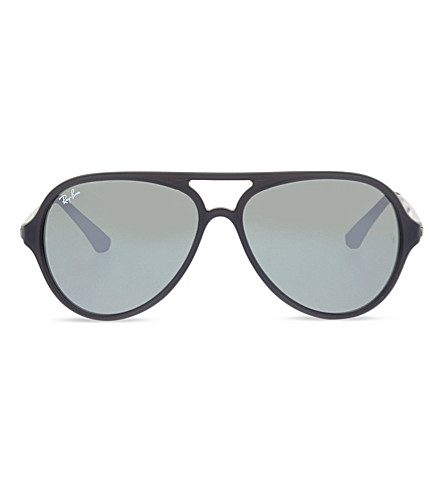 RAY-BAN RB4235 aviator sunglasses (Matte+grey