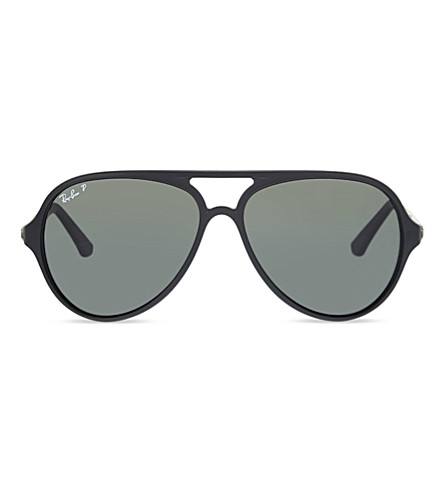 RAY-BAN RB4235 aviator sunglasses (Matte+black