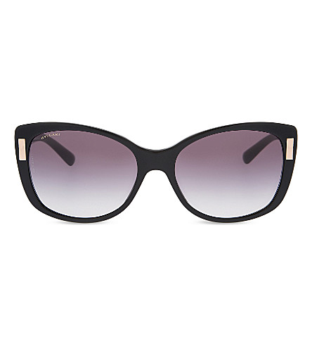 BVLGARI BV8170 猫眼太阳镜 (黑色
