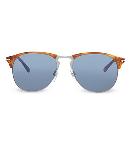 PERSOL PO8649S 1968 Terra di Siena pilot sunglasses (Terra+di+siena