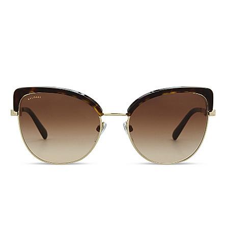 BVLGARI BV6082 Bvlgari Bvlgari cat eye-frame sunglasses (Havana