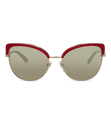 BVLGARI BV6082 Bvlgari Bvlgari cat eye-framesunglasses (Red