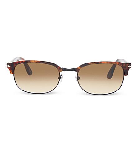 PERSOL Po8139s havana aviator sunglasses (Caffe'