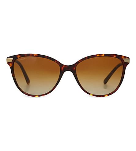 BURBERRY B4216 tortoiseshell cat-eye sunglasses (Havana