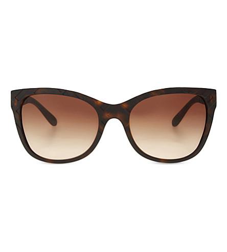 BURBERRY Be4219 havana square-frame sunglasses (Havana