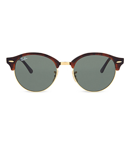RAY-BAN RB4246 Havana Clubround sunglasses (Havana