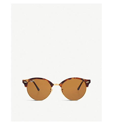 RAY-BAN RB4246 Clubround sunglasses (Brown