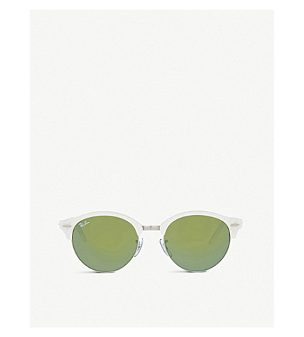 RAY-BAN RB4246 unisex phantos sunglasses (White