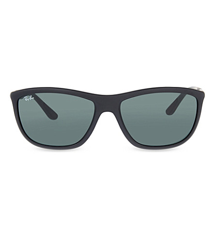 RAY-BAN Rb8351 square-frame sunglasses (Matte+black