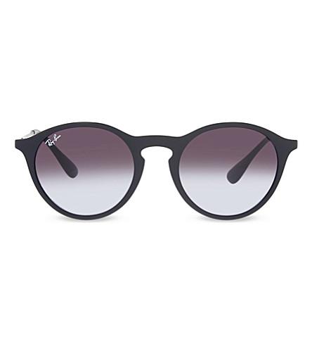 RAY-BAN RB4243 橡胶 phantos 太阳镜 (橡胶 + 黑色