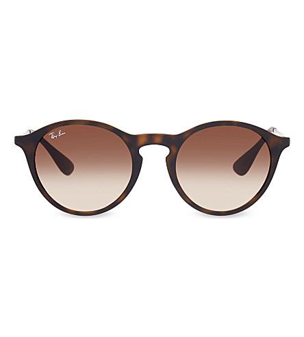 RAY-BAN RB4243 Havana phantos sunglasses (Rubber+havana