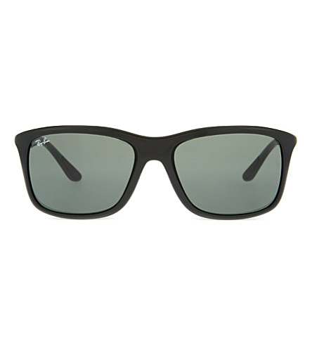 RAY-BAN Rb8352 square-frame sunglasses (Black
