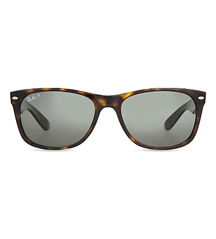 RAY-BAN RB2132 New Wayfarer polarised sunglasses (Tortoise