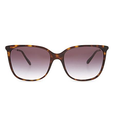 GIORGIO ARMANI AR8080 square-frame sunglasses (Havana