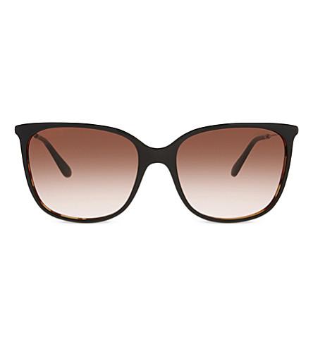 GIORGIO ARMANI AR8080 square-frame sunglasses (Black