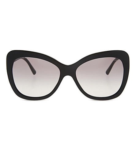 GIORGIO ARMANI AR8082 cat-eye sunglasses (Black