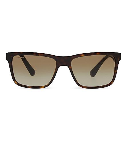 PRADA PR19SS tortoiseshell D-frame sunglasses (Havana