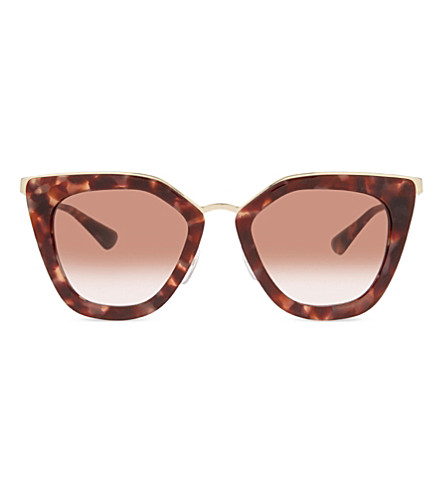 PRADA Pr53s cat-eye sunglasses (Pink