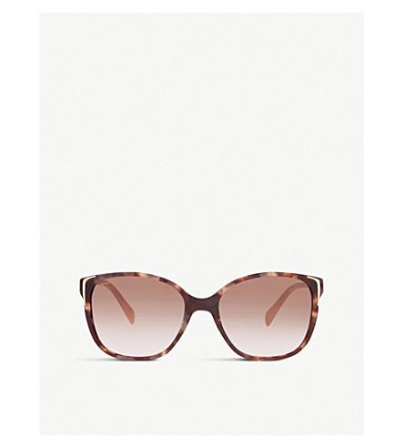 PRADA SPR010 square-frame sunglasses (Pink