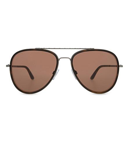 GIORGIO ARMANI AR6039 aviator sunglasses (Matte+gunmetal