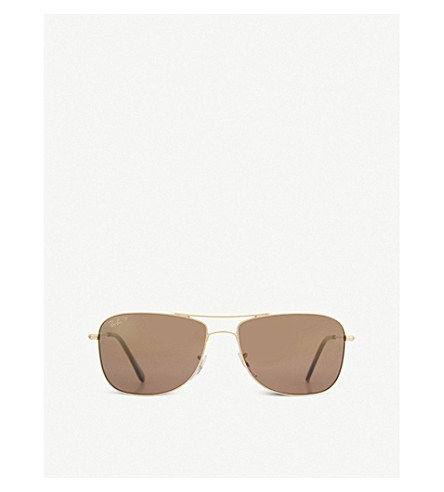 POLICE RB3543 Aviator sunglasses (Shiny+gold