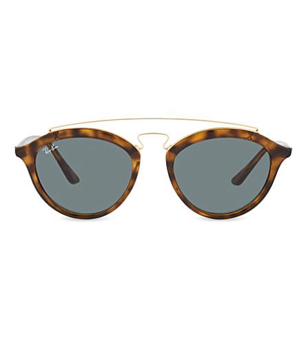 RAY-BAN RB4257 tortoiseshell round sunglasses (Havana