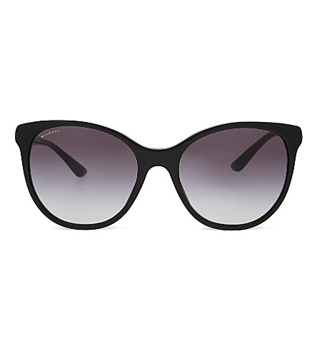 BVLGARI 0BV8175 Diva's Dream round-frame sunglasses (Black