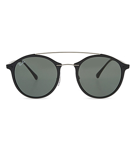 eb5d80c41b ... italy ray ban rb4226 tech round frame sunglasses black. previousnext  aa105 01446
