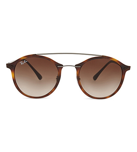 RAY-BAN RB4226 Tech round-frame sunglasses (Brown
