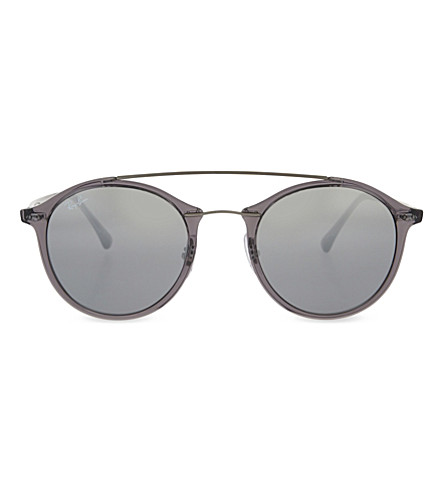 RAY-BAN RB4226 Tech round-frame sunglasses (Grey