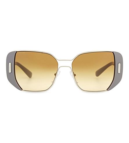 PRADA PR59SS Mod square-frame sunglasses (Grey