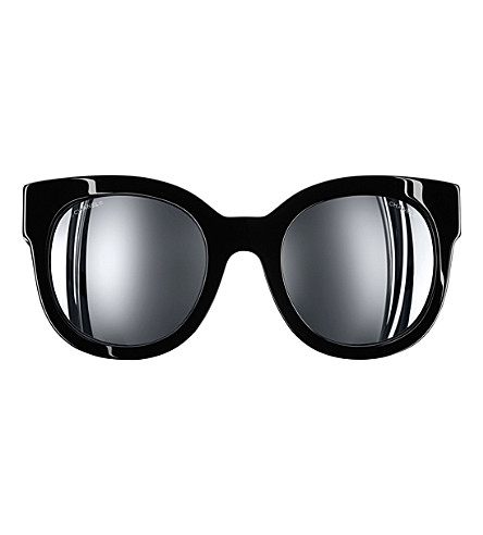 CHANEL Butterfly sunglasses (Black