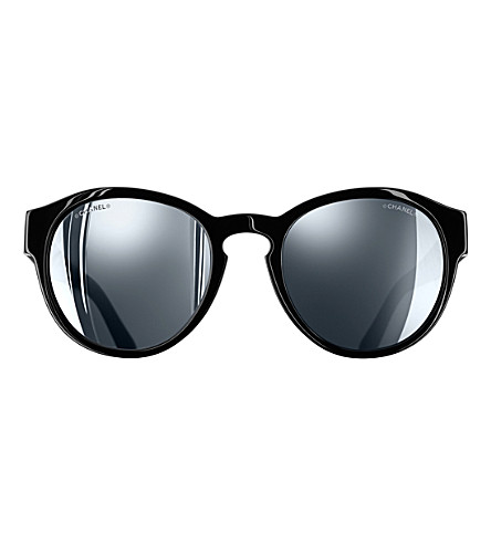 CHANEL Phantos sunglasses (Black