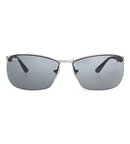 RAY-BAN RB3550 D-frame sunglasses sunglasses (Matte+silver