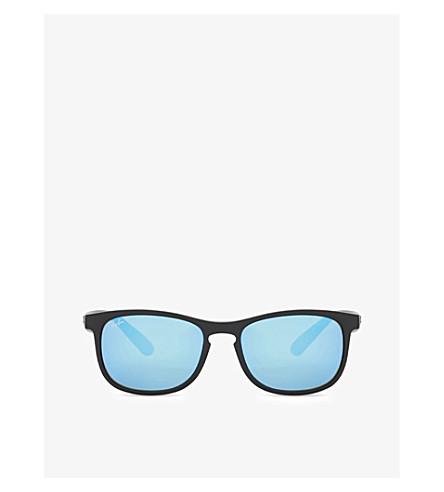 RAY-BAN Rb4263 Chromance square sunglasses (Matte+black