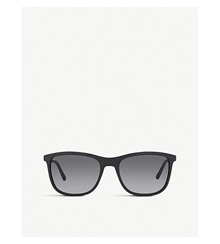 GIORGIO ARMANI Ar8087 square-frame sunglasses (Black