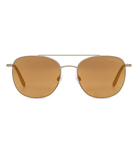 GIORGIO ARMANI Frames of Life AR6042 square-frame sunglasses (Matte+bronze
