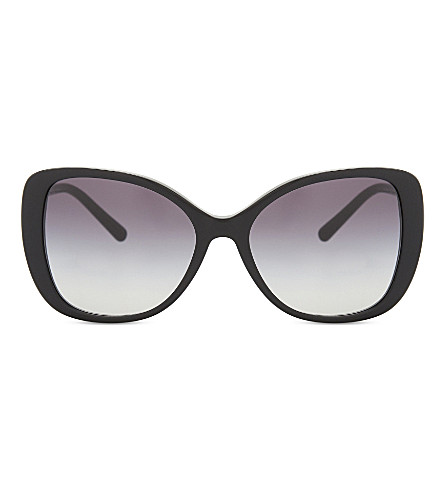 BURBERRY Be4238 butterfly-frame sunglasses (Black